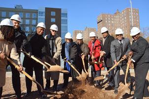 Harlem Dowling Groundbreaking
